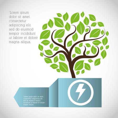eco plant environment care icon, vector illustration image