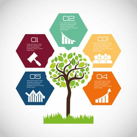 Eco plant milieu zorg pictogram, vector afbeelding afbeelding