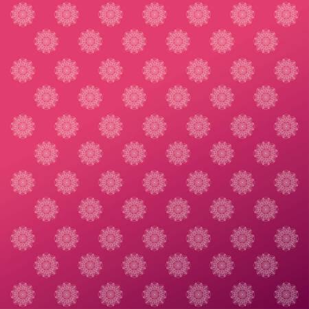 flower shape mandala patter background image vector illustration design