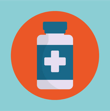 medicine medical care icon image vector illustration design