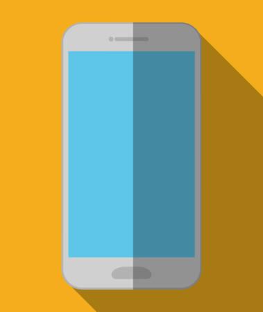 cellphone: smartphone cellphone icon image vector illustration design