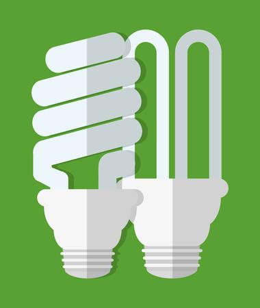 energy saving lightbulb icon image vector illustration design Illustration