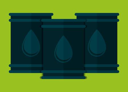 oil barrel icon image vector illustration design Ilustrace