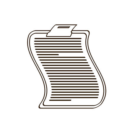 clipboard related icon image, vector illustration design Illustration