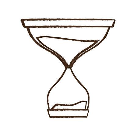 figure hourglass icon image design, vector illustration