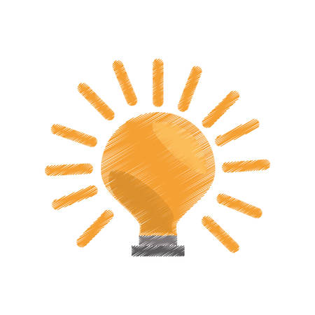 electric bulb: bulb electric icon image, vector illustration design
