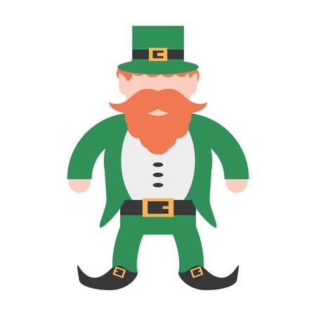 st patricks day leprechaun traditional icon