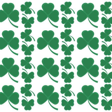 patrik: st patricks day clover symbol seamless pattern