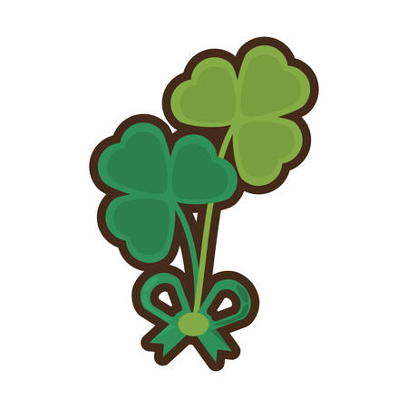 patrick day: clover bow decoration festive st patrick day
