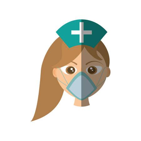 scrubs: doctor female mask medical style medicine