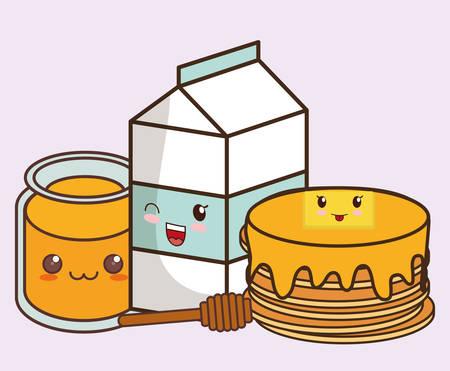 breakfast food icon image vector illustration design