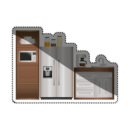 design: Kitchen interior design icon vector illustration graphic design