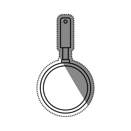 Kitchen pan cookware icon vector illustration graphic design Illustration