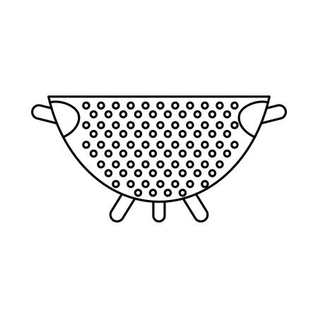 Kitchen cook utensil icon vector illustration graphic design