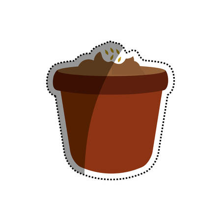 Nature plant ecology icon vector illustration graphic design Illustration
