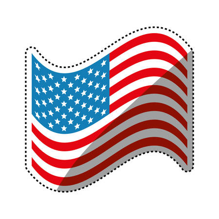 united states patriotic symbol icon vector illustration graphic rh 123rf com us flag graphic free us flag graphic free