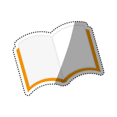 Isolated book open icon vector illustration graphic design