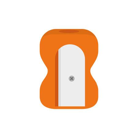 Sharpener school utensil icon vector illustration graphic design