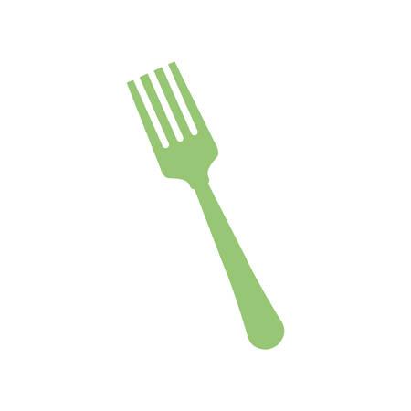 serving utensil: Restaurant cutlery utensil icon vector illustration graphic design
