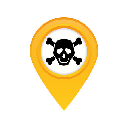 danger and warning sign icon vector illustration graphic design Illustration