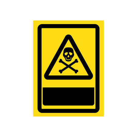 dangerous construction: danger and warning sign icon vector illustration graphic design Illustration