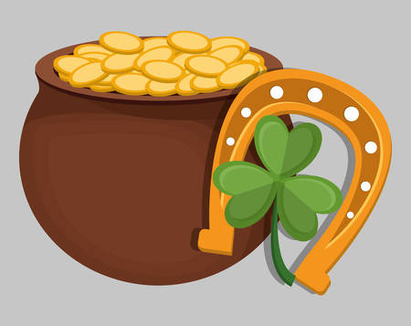 st patricks day icon image vector illustration design