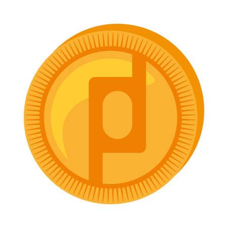 protoshare money golden coin vector illustration eps 10