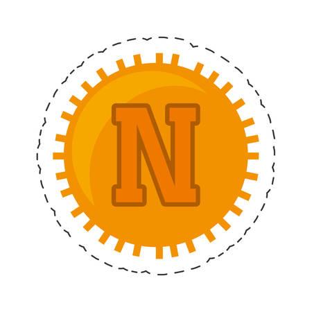 novacoin money golden commerce vector illustration eps 10