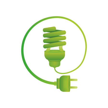 Spiral bulb symbol icon vector illustration graphic design
