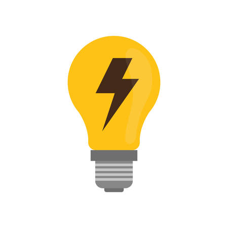 Bulb energy light icon vector illustration graphic design