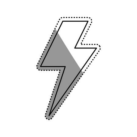 Electricity symbol icon vector illustration graphic design Illustration