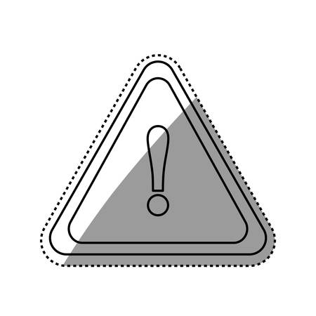 dangerous construction: danger and warning sign icon illustration graphic design