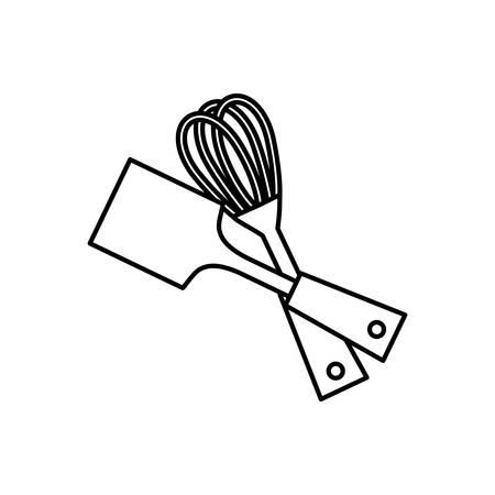 food supply: Kitchen utensil for cook icon vector illustration graphic design Illustration