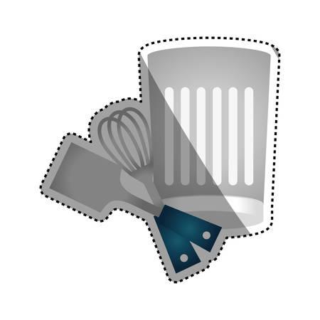 turner: Kitchen utensil for cook icon vector illustration graphic design Illustration