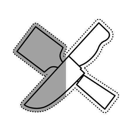 Kitchen utensil for cook icon vector illustration graphic design Illustration