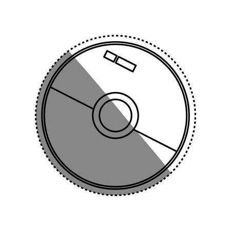 Software cd computer icon vector illustration graphic design