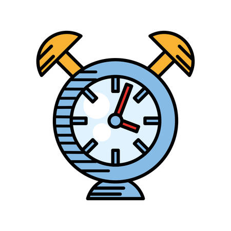 clock alarm watch time vector illustration eps 10 Illustration