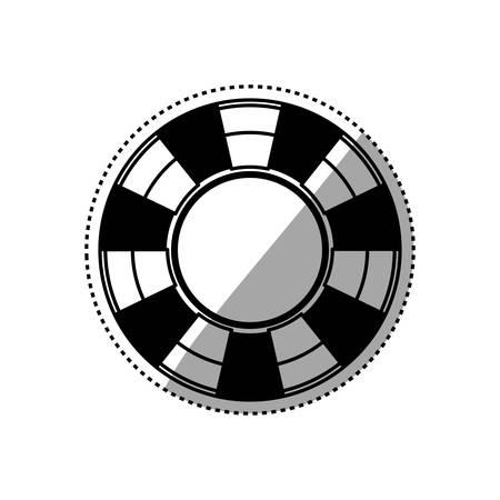 Casino and gambling icon vector illustration graphic design