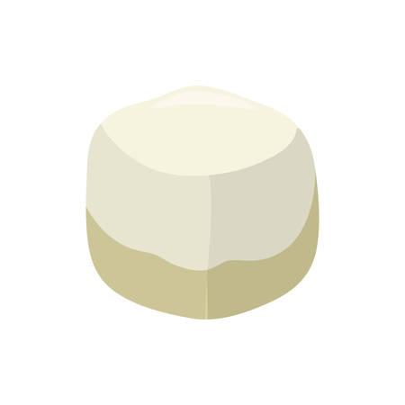 sweetener: Sweet sugar cube icon vector illustration graphic design