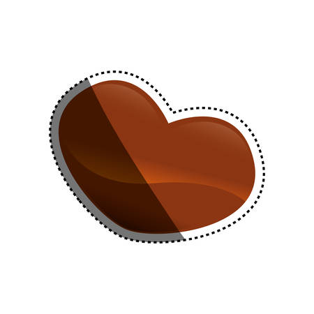 Delicious chocolate dessert icon vector illustration graphic design