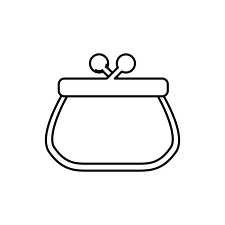notecase: Pocketbook purse isolated icon vector illustration graphic design