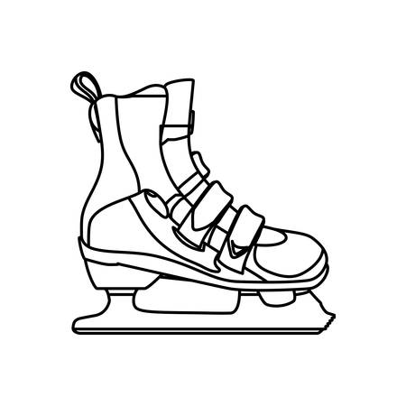 rulos: Rollers and ice skates sport vector,illustration, icon Vectores
