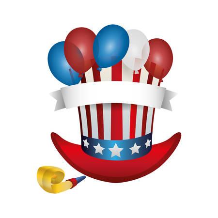 United states patriotic emblem icon vector ilustration graphic design