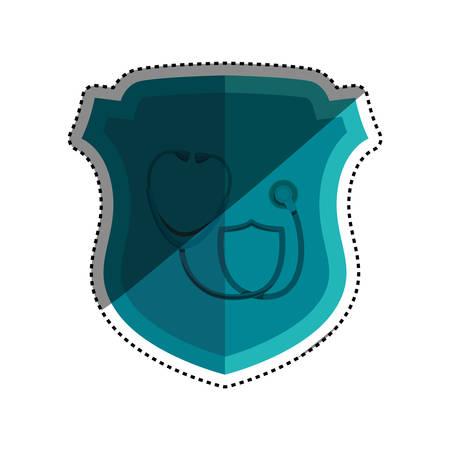 examenes de laboratorio: Medical healthcare service icon vector illustration graphic design