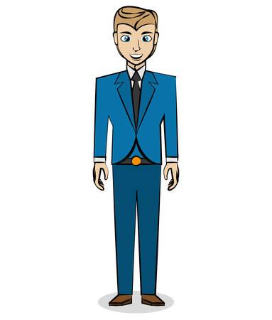 comic man pop art retro vector illustration eps 10