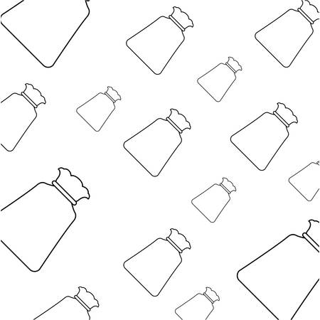 background wallpaper bag sack object vector icon illustration