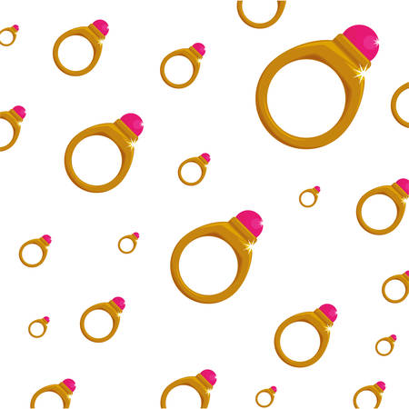 ring gold jewelry gemstone background wallpaper icon vector illustration
