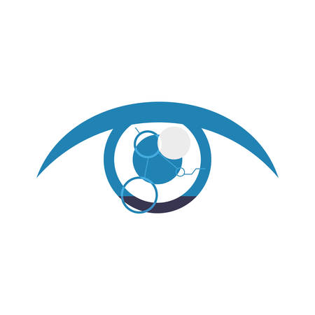 Eye looking symbol vector icon illustration graphic design.