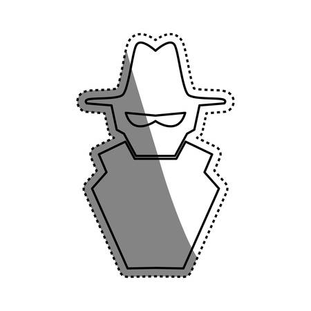 spyware: malware spyware symbol vector icon illustration graphic design