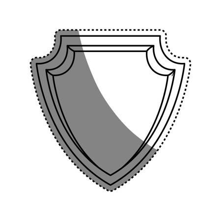 Malware spyware head vector icon illustration graphic design Illustration